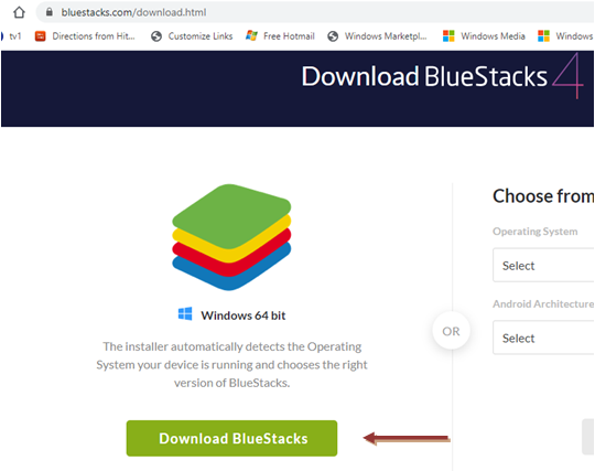Download Bluestacks 4 for Windows