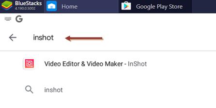InShot for Windows 10