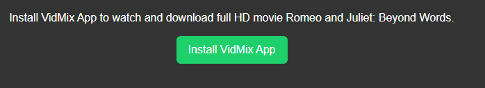 Vidmix for Windows 10