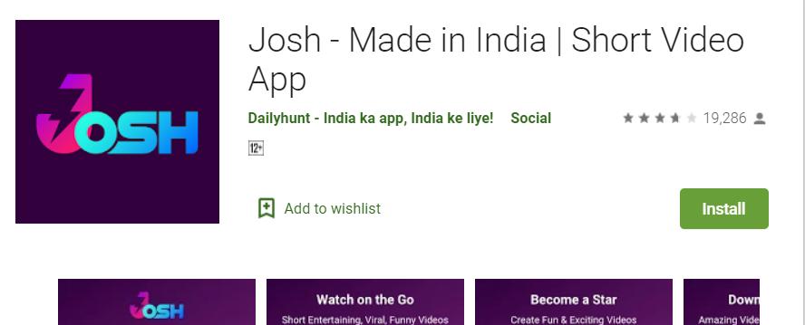 Josh App for Laptop