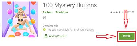 100 mystery buttons for pc