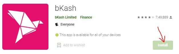 bKash App Download for Windows