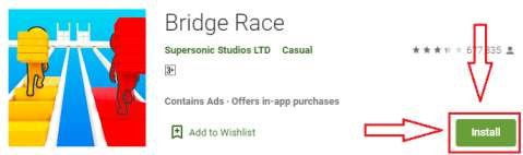 bridge race for pc game