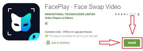 faceplay app for pc