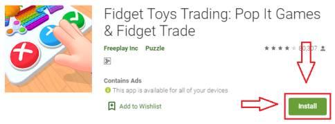fidget toys trading 3d for pc