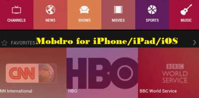 mobdro for iphone 2021