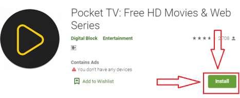 pocket tv for pc