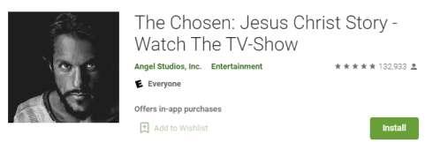 the chosen app for pc