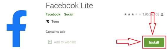 facebook lite app for pc
