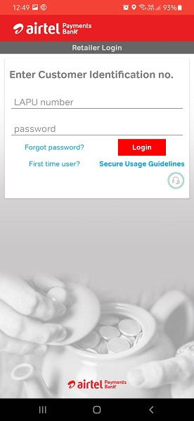 airtel mitra lapu number registration