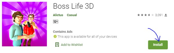 Boss Life 3D Apk 1.0.56 for Android