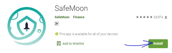 SafeMoon App Download for laptop